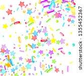 sprinkles grainy. cupcake... | Shutterstock .eps vector #1355452367