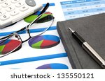 business research report | Shutterstock . vector #135550121