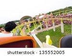 perspective view of roller... | Shutterstock . vector #135552005