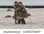 kolobrzeg  west pomeranian  ... | Shutterstock . vector #1355575697