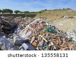 Landfill In A Nature Place ...