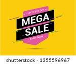 big sale special offer | Shutterstock .eps vector #1355596967