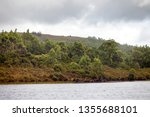 views of lake burbury  which is ... | Shutterstock . vector #1355688101