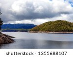 views of lake burbury  which is ... | Shutterstock . vector #1355688107