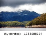 views of lake burbury  which is ... | Shutterstock . vector #1355688134