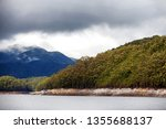views of lake burbury  which is ... | Shutterstock . vector #1355688137