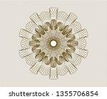 brown passport money rosette | Shutterstock .eps vector #1355706854