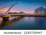 dublin  ireland   03 23 2019  ... | Shutterstock . vector #1355735447