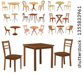 Set Of Furniture  Table And...