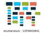 mind map  flowchart ... | Shutterstock .eps vector #1355842841