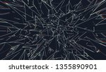 abstract space of moving sharp...   Shutterstock . vector #1355890901