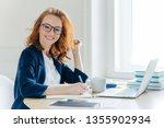 sideways shot of prosperous... | Shutterstock . vector #1355902934