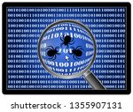 debugging software in action....   Shutterstock . vector #1355907131