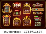 set of elements game interface. ... | Shutterstock .eps vector #1355911634