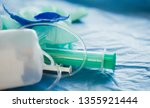 medical waste disposal... | Shutterstock . vector #1355921444