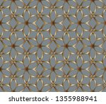 ethnic ornament. folk pattern.... | Shutterstock .eps vector #1355988941