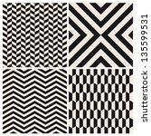 seamless pattern background set ... | Shutterstock .eps vector #135599531