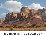 landscape in tigray province ... | Shutterstock . vector #1356025817