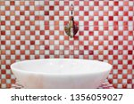 traditional turkish hamam with... | Shutterstock . vector #1356059027