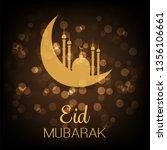 ramadan kareem or eid mubarak   ... | Shutterstock .eps vector #1356106661