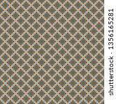 seamless pattern   square... | Shutterstock . vector #1356165281