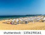 sunny beach  bulgaria   2 sep... | Shutterstock . vector #1356198161