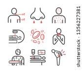 leukemia symptoms. symptoms ... | Shutterstock .eps vector #1356227381