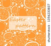 seamless pattern for happy...   Shutterstock .eps vector #1356233837