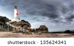 Lighthouse With Part Of The...