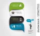 Modern Infographics Bubble...