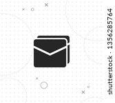 envelope  mail  vector best... | Shutterstock .eps vector #1356285764