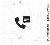 telephone receiver  vector best ... | Shutterstock .eps vector #1356289487
