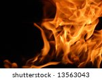 Fire 6 - stock photo