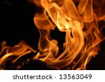 Fire 8 - stock photo