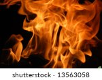 Fire 10 - stock photo
