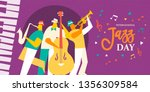 international jazz day... | Shutterstock .eps vector #1356309584