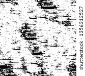 grunge black and white texture. ... | Shutterstock .eps vector #1356312527