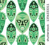 vector illustration. tribal... | Shutterstock .eps vector #1356333311