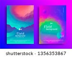 creative design poster with...   Shutterstock .eps vector #1356353867