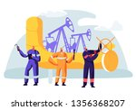 oil and gas industry concept... | Shutterstock .eps vector #1356368207