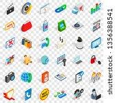 www design icons set. isometric ... | Shutterstock .eps vector #1356388541