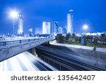 Tel Aviv Cityscape   Traffic...