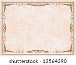 colored vector frame. | Shutterstock .eps vector #13564390