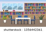 university library to education ... | Shutterstock .eps vector #1356442361