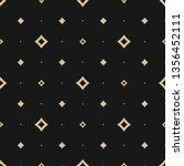 golden vector seamless pattern... | Shutterstock .eps vector #1356452111