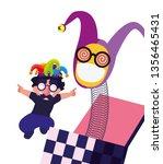 boy april fools day | Shutterstock .eps vector #1356465431