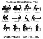 tcm traditional chinese... | Shutterstock .eps vector #1356468587