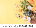 color pattern with orange ... | Shutterstock . vector #1356471704
