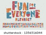 a happy  playful and whimsical... | Shutterstock .eps vector #1356516044