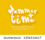 vector bright yellow poster... | Shutterstock .eps vector #1356516617